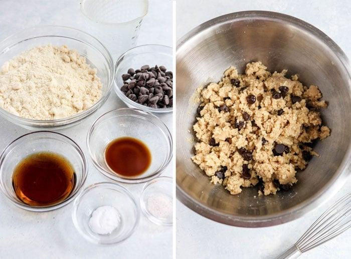 paleo chocolate chip cookie dough