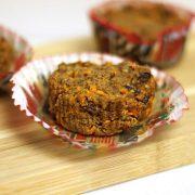 Vegan morning glory muffin