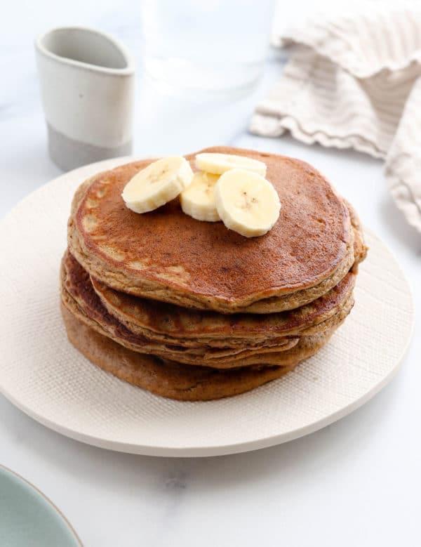 stack of paleo pancakes
