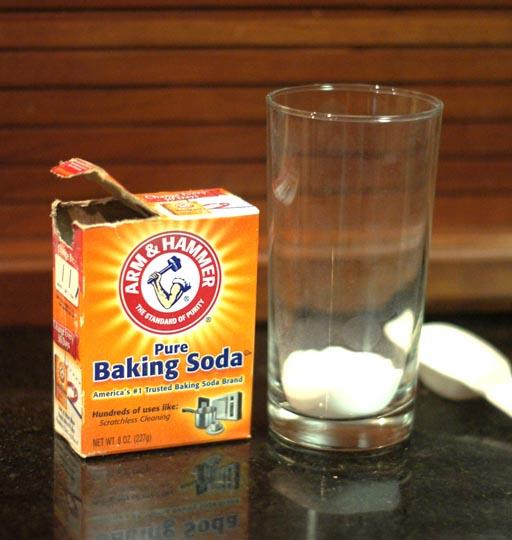 box of open baking soda