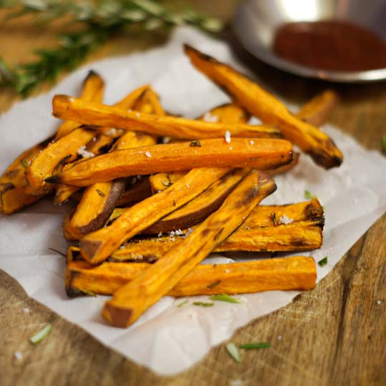 rosemary sweet potato fries