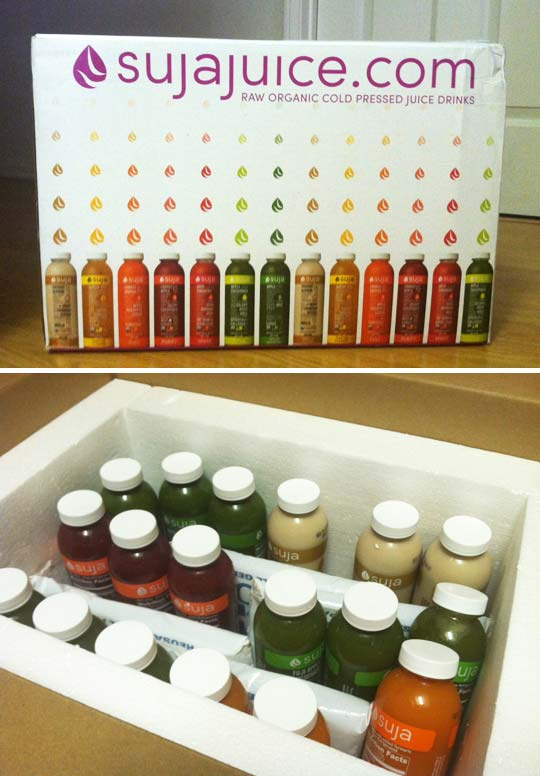 suja juice package