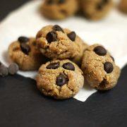 Raw cookie dough bites