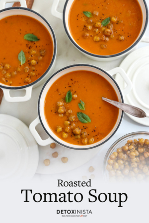 roasted tomato soup pin