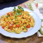 citrus basil quinoa salad