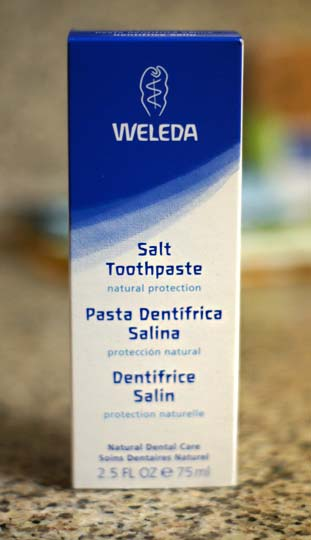 box of salt toothpaste