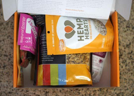 bestowed box goodies