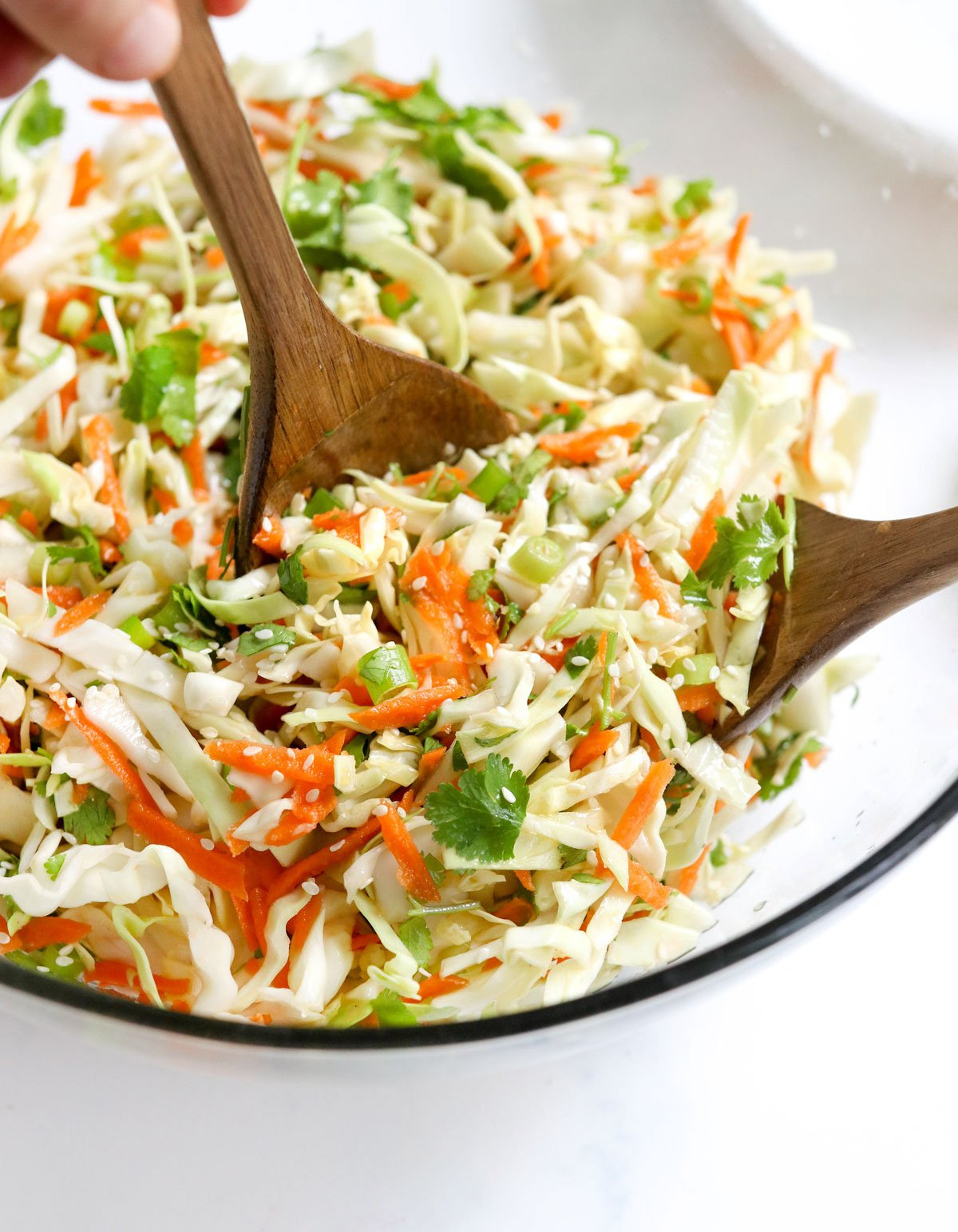 Sweet Sesame Lime Cabbage Salad Detoxinista