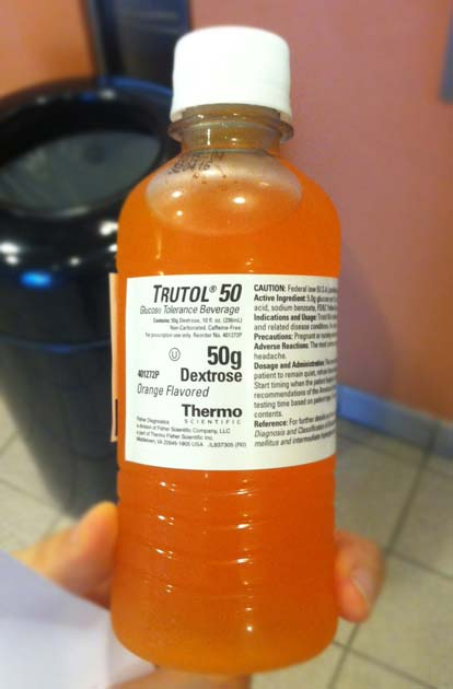 bottle of trutol
