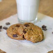 two buckwheat cookies
