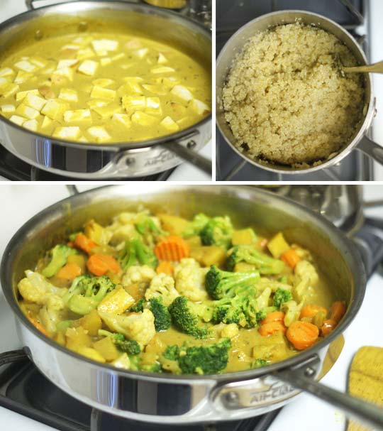 Easy coconut curry detoxinista making coconut curry ccuart Choice Image