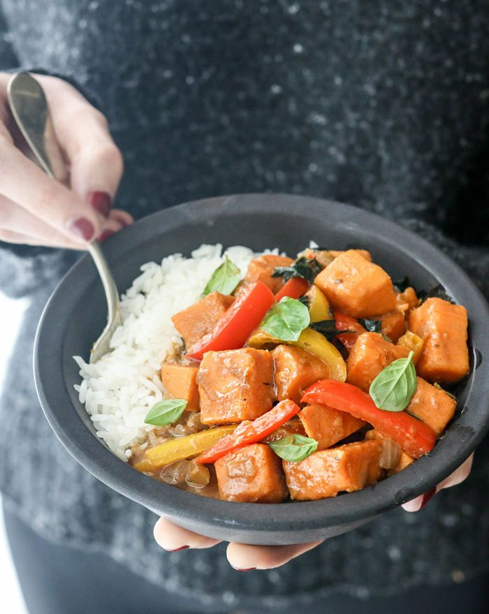 vegan curry recipe