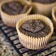 buckwheat banana nut muffins