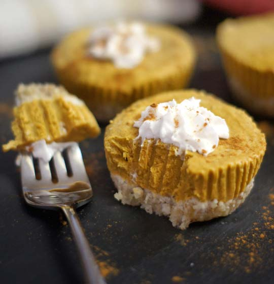 pupmkin tart with whipped topping