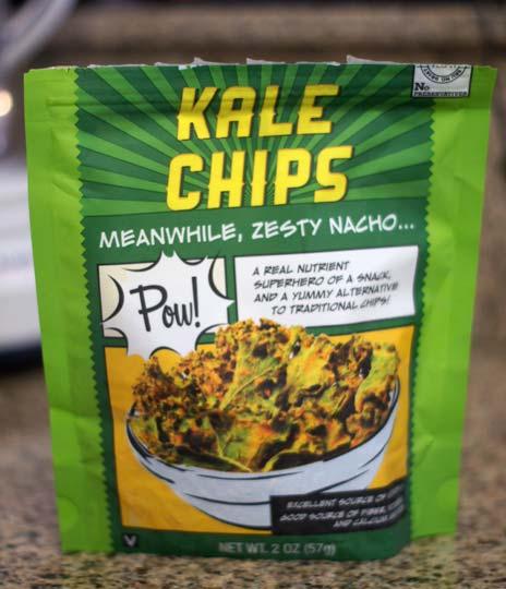 bag of kale chips