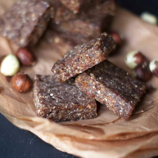 healthy nutella fudge bites