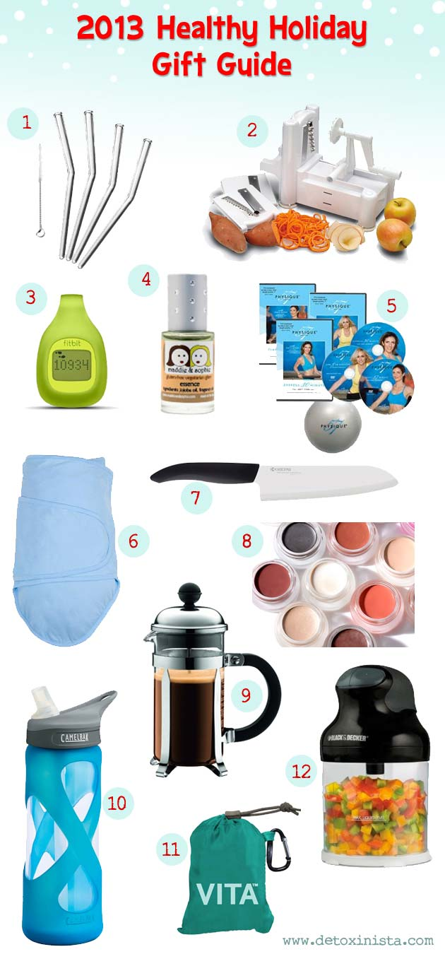 2013 healthy holiday gift guide