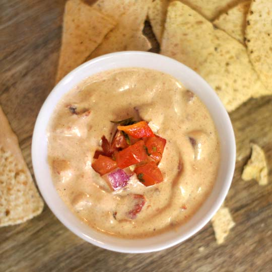 dairy free queso dip