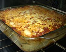 eggplant and goat cheese lasagna