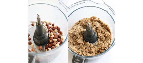 hazelnut crust in food processor