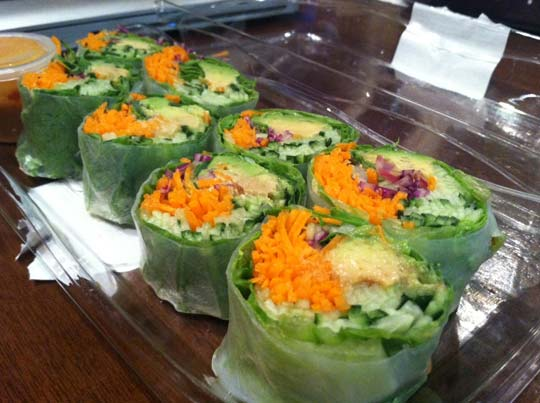 veggie salad wraps from whole foods