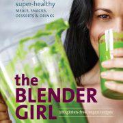 The blender girl cookbook cover