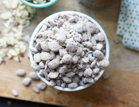 grain-free puppy chow in a bowl