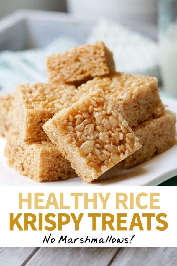 healthy rice krispy treat pin