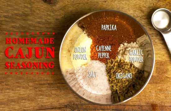 Homemade Cajun seasoning