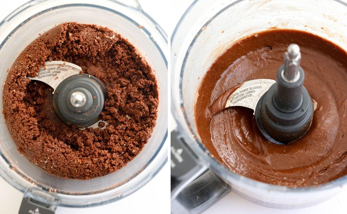 chocolate hazelnut spread with water added