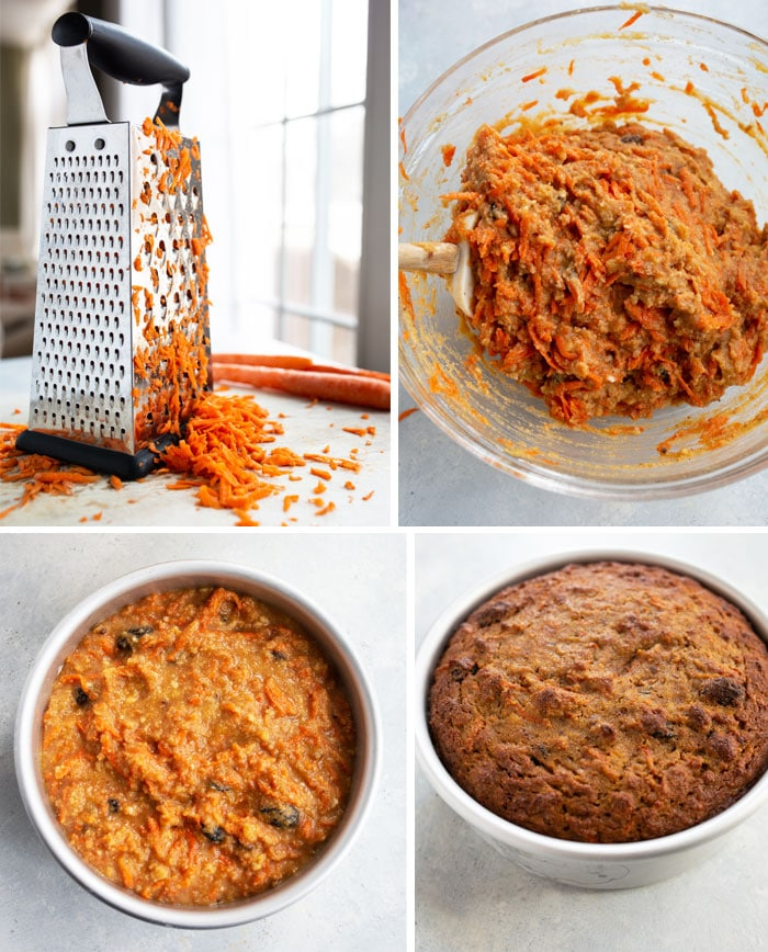 how to make paleo carrot cake