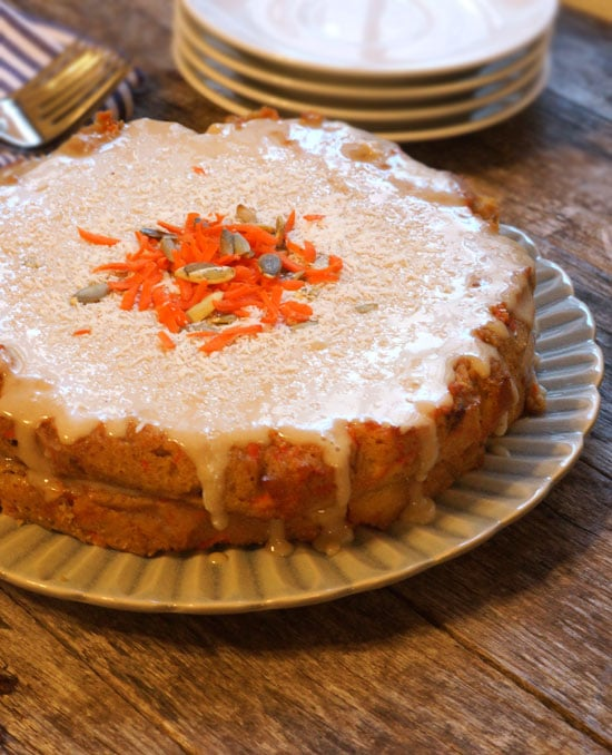 Carrot Cake Using Coconut Flour