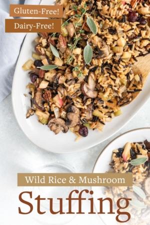 Wild Rice and Mushroom Stuffing Pin