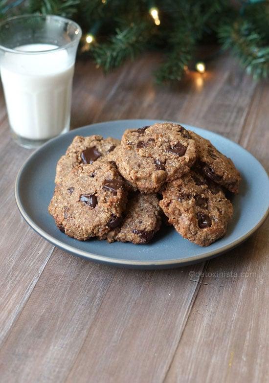 Gluten Free Cookies In A Jar Paleo Vegan Detoxinista