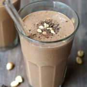 Peanut butter cup shake