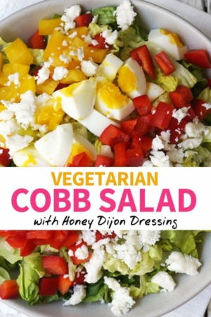 vegetarian Cobb Salad pin