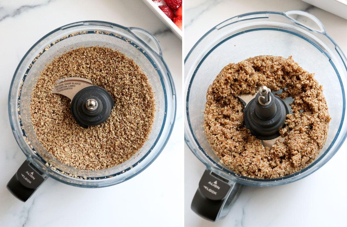 paleo crisp topping in food processor