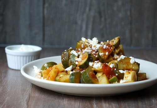 marinara zucchini