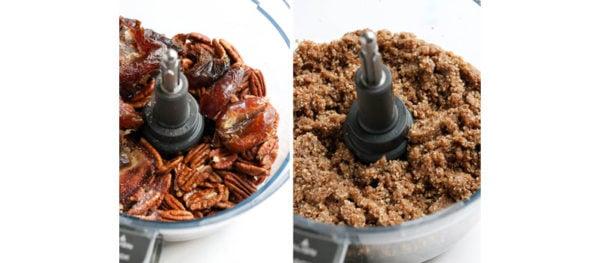 crust ingredients in food processor