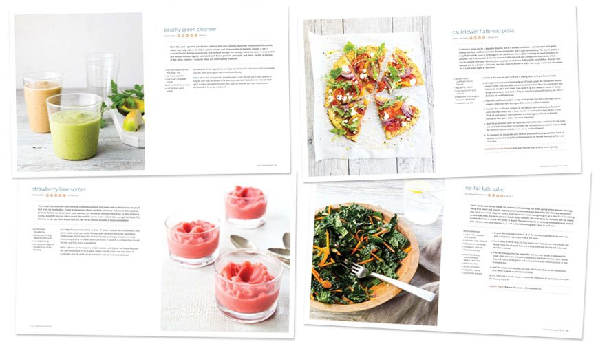 recipe layouts