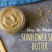 How to make sunflower seed butter promo