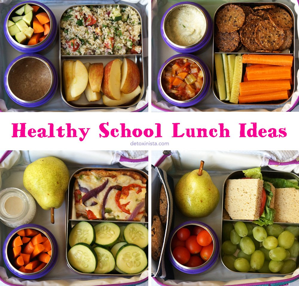 healthy school lunch ideas detoxinista