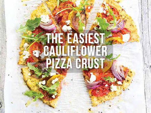 The Easiest Cauliflower Pizza Crust