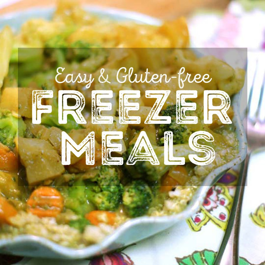 Easy vegetarian freezer meals detoxinista what i love about these freezer ideas is that you only have to do the prep work once while making enough food for two or more meals forumfinder Choice Image