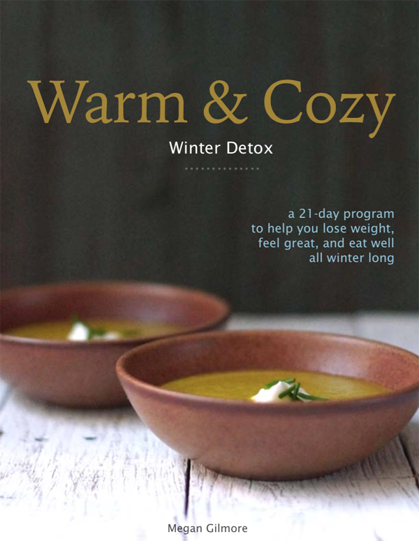warm cozy winter detox