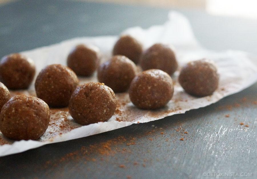 snickerdoodle snack bites