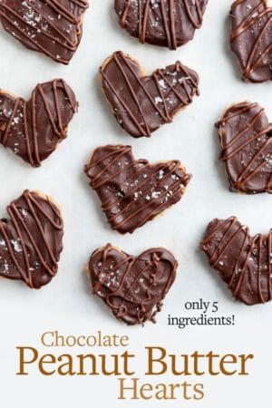 peanut butter hearts pin