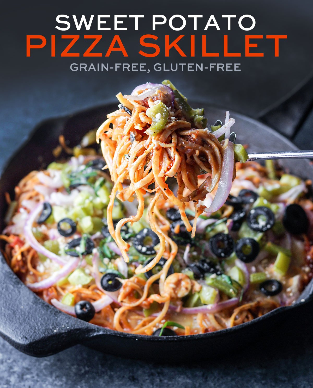 sweet potato pizza skillet