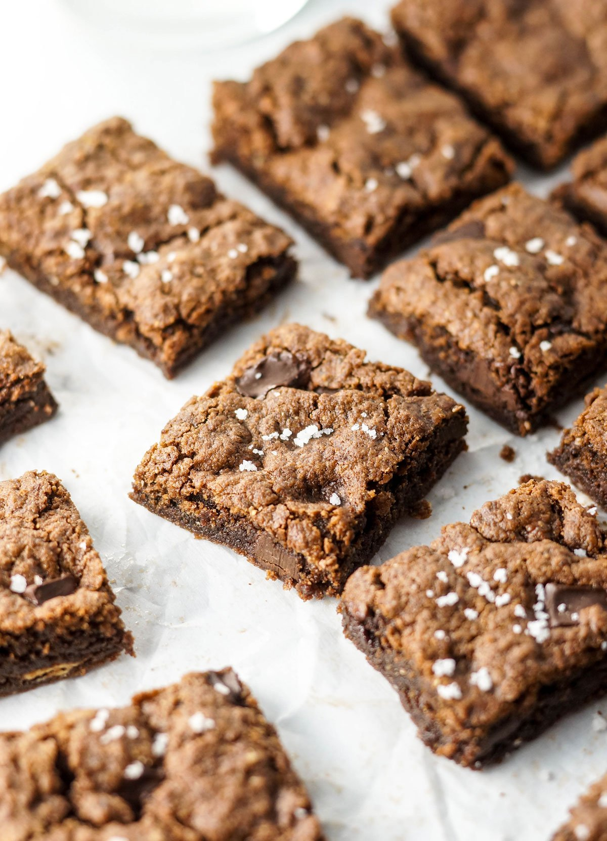 vegan almond butter brownies