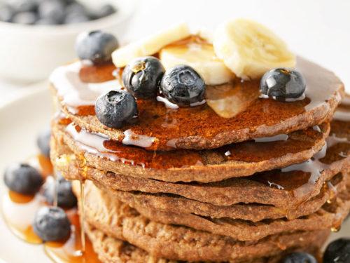 Vegan Buckwheat Pancakes | Detoxinista
